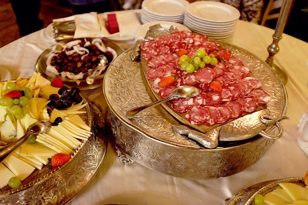 свадебный стол в италии