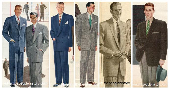 как одевались мужчины в 50-е