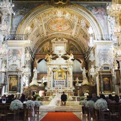 венчание в риме, италия