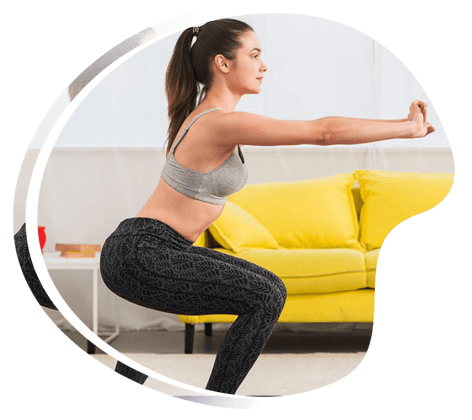 Tabata interval training at home