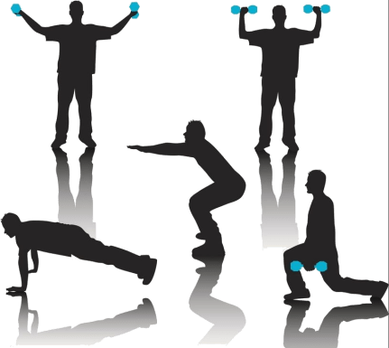 at home tabata workout multi exercises