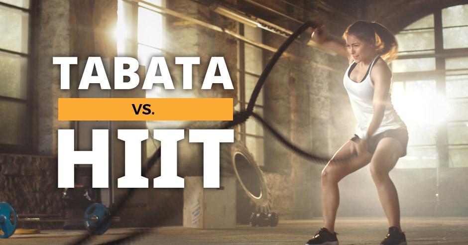 Tabata at home vs HIIT