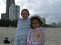 My Sister and Me at the Beach