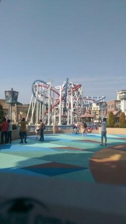 The Biggest Roller Coaster at Universal Studios