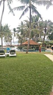 The Resort Pool and Swim Up Bar
