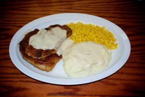 Youngblood's Texas Cookin' Stockyards Cafe - Boneless Pork Chops
