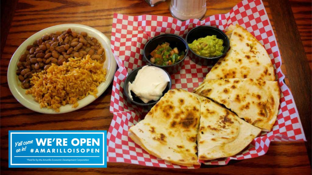 Quesadillas - Youngblood's Cafe - Amarillo, Texas