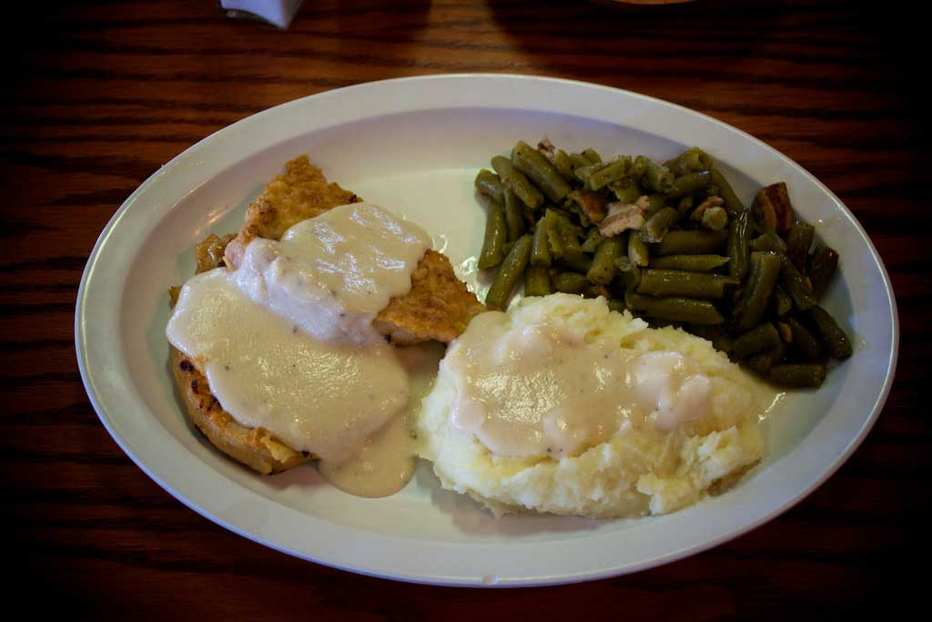 Youngblood's Texas Cookin Stockyards Cafe - Boneless Pork Chops