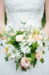 Apricot Bridal Bouquet