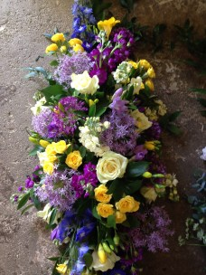 Coffin spray, prices from £70