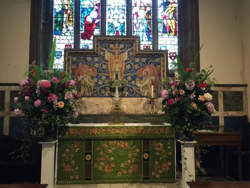 London, wedding flowers