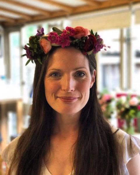Wiltshire, flower-crown workshop