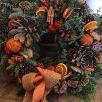 Fresh wreath Xmas workshop 2020