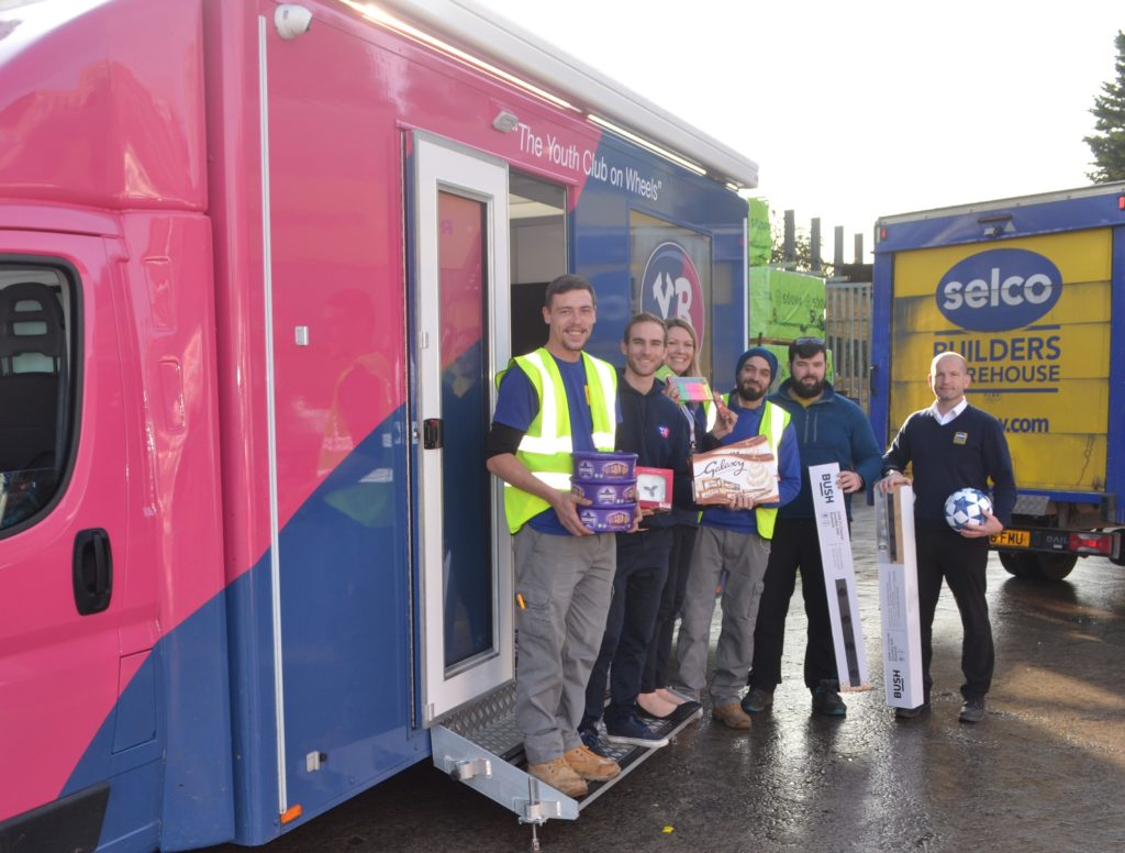 Selco Donate To Youth Clubs In Time For Christmas