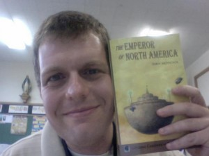 John McNichol and his new book.