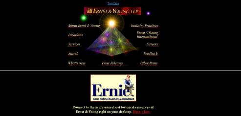 """Ernst & Young, circa 1996 