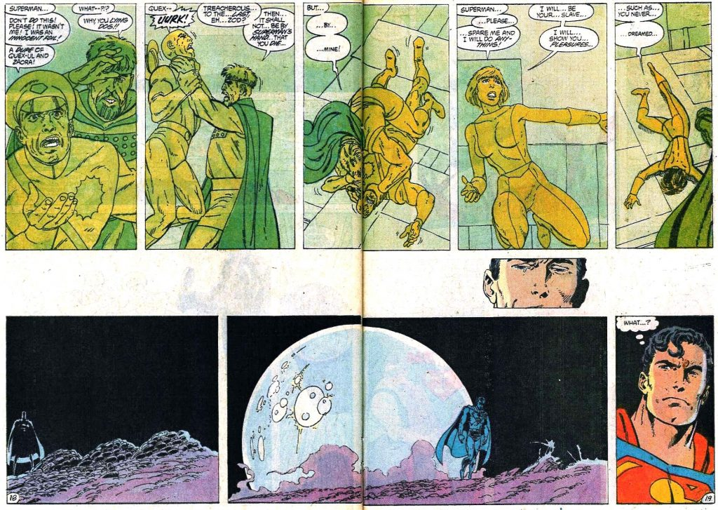 Honestly, compared with how it went in John Byrne's run, snapping his neck was a mercy.