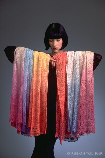 Younger Knits Rayon Scarves - 1996