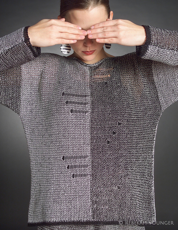 Yin Yang Sweater Pattern Younger Knits