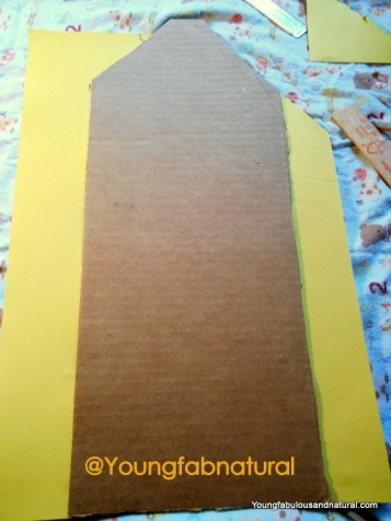 Glue to construction paper