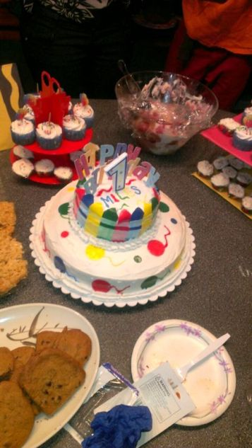 Crayola Cake