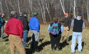 Biologist explains how to make young-forest habitat