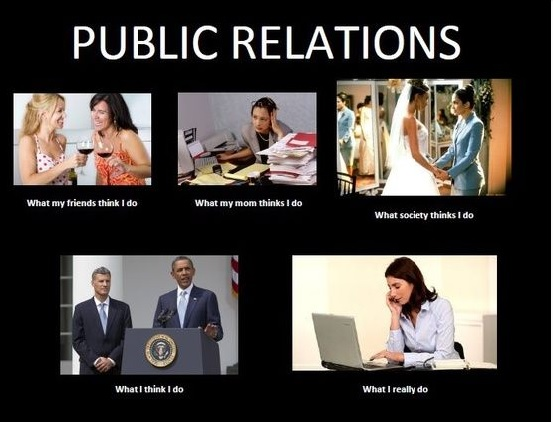 different descriptions of public relations