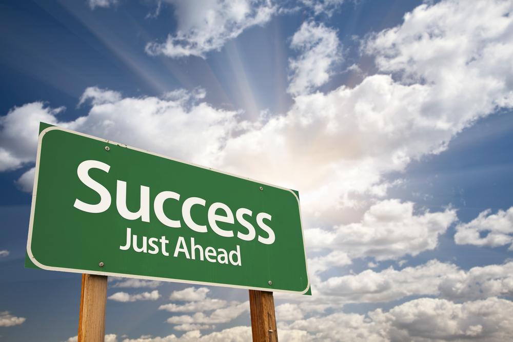 Success, just ahead.
