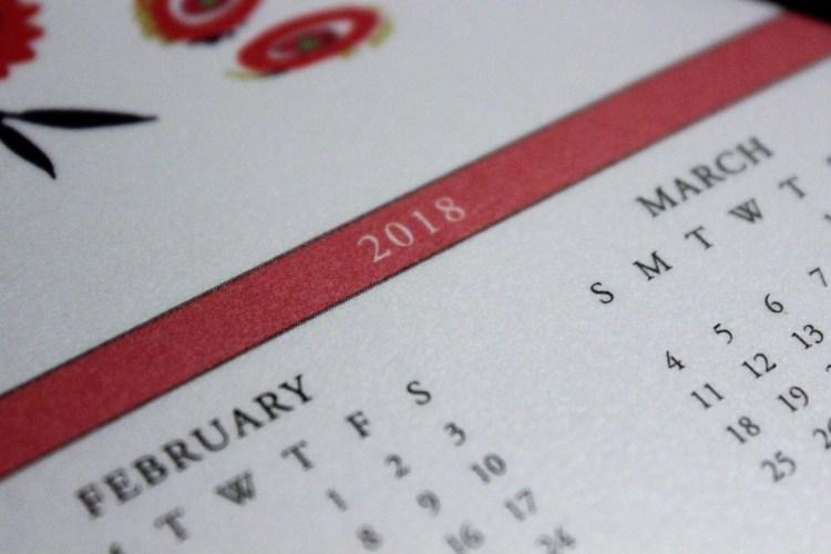 New year, who dis? #newyear #2018 #calendar