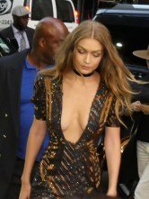 Gigi Hadid seen arriving to the Daily Front Row Fashion in Media Awards. Pictured: Gigi Hadid Ref: SPL1349320 080916 Picture by: GoldStar Media / Splash News Splash News and Pictures Los Angeles: 310-821-2666 New York: 212-619-2666 London: 870-934-2666 photodesk@splashnews.com