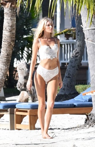 Exclusive, Islamorada, FL - 12/14/16 Angels Stella Maxwell, Elsa Hosk and Romee Strijd model lingerie for Victoria's Secret on the beach in Islamorada, Florida. -PICTURED: Elsa Hosk -PHOTO by: INSTARimages.com -INSTAR_Victorias_Secret_Photoshoot_Exclusive_33421966 Editorial Rights Managed Image - Please contact www.INSTARimages.com for licensing fee and rights: North America Inquiries: email sales@instarimages.com or call 212.414.0207 - UK Inquiries: email ben@instarimages.com or call + 7715 698 715 - Australia Inquiries: email sarah@instarimages.com.au or call +02 9660 0500 – for any other Country, please email sales@instarimages.com. Image or video may not be published in any way that is or might be deemed defamatory, libelous, pornographic, or obscene / Please consult our sales department for any clarification or question you may have - http://www.INSTARimages.com reserves the right to pursue unauthorized users of this image or video. If you are in violation of our intellectual property you may be liable for actual damages, loss of income, and profits you derive from the use of this image or video, and where appropriate, the cost of collection and/or statutory damage.