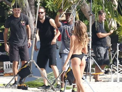 52257074 Models Taylor Hill and Josephine Skriver are spotted doing a Victoria's Secret photo shoot on the beach in Miami, Florida on December 13, 2016. Josephine posed topless for a couple of frames but made sure to cover up as much as she could. Models Taylor Hill and Josephine Skriver are spotted doing a Victoria's Secret photo shoot on the beach in Miami, Florida on December 13, 2016. Josephine posed topless for a couple of frames but made sure to cover up as much as she could. Picture: Josephine Skriver FameFlynet, Inc - Beverly Hills, CA, USA - +1 (310) 505-9876