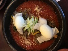 """Spicy cold noodles! Called """"Naengmyun"""", this is a refreshing korean dish for the summer."""