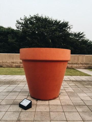 """Pot Rouge"" Jean-Pierre Raynaud"