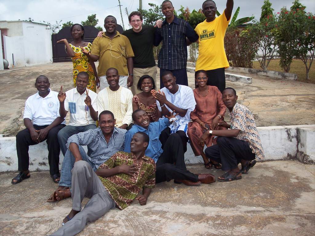 Ghana group photo Feb 09