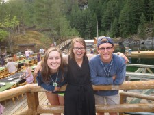 UW YLC leaders serving on Summer Staff -- Maddy & Eric