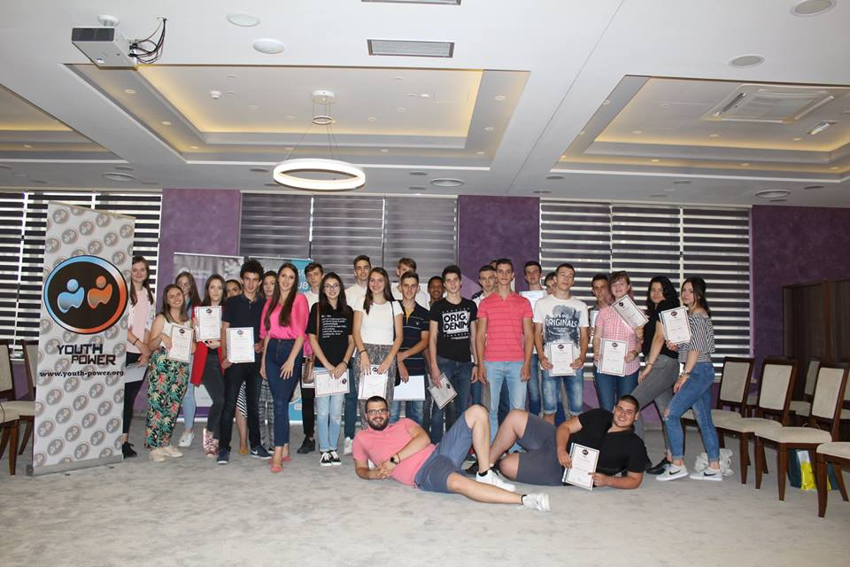 Partner Organization Youth Power awarded certificates to