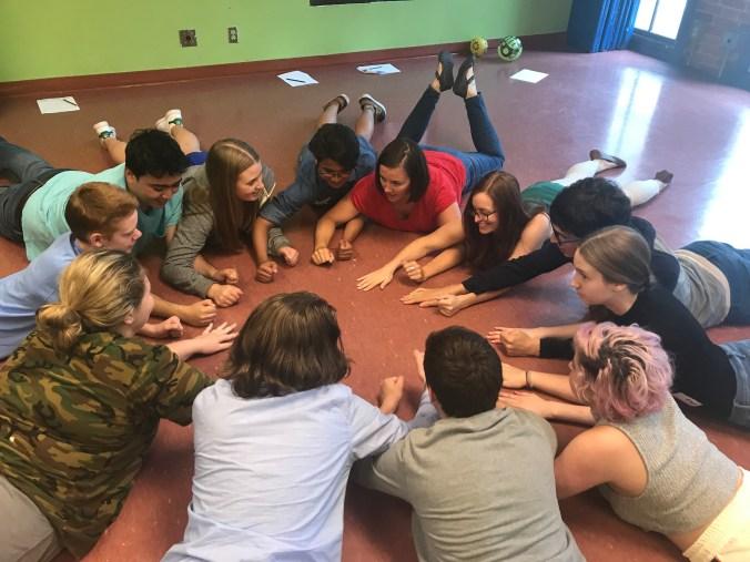Summer Drama Camp orientation