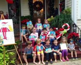 """An Elf on the Shelf"" painting party"