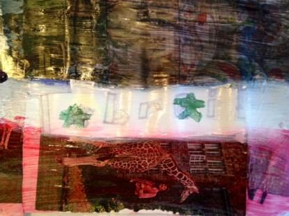 A TIBUTE TO POP ARTIST JASPER JOHN FLAG SERIES-YP FALL 2012 AFTER SCHOOL ART CLASS