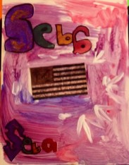 A TIBUTE TO POP ARTIST JASPER JOHN FLAG SERIES-YP FALL 2012 AFTER SCHOOL ART CLASS