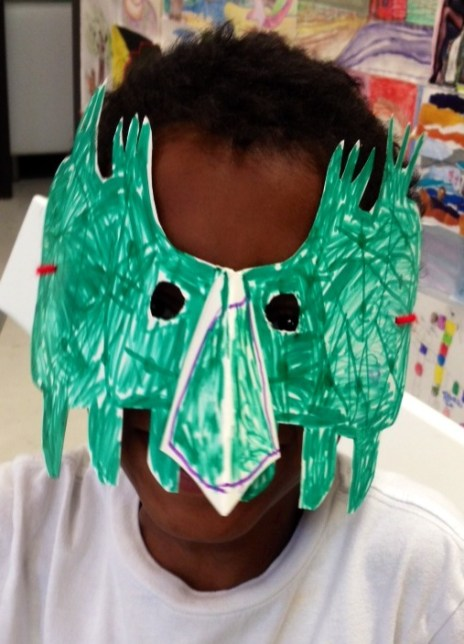 MAGICAL MASKS – EMPOWERING CREATIVITY AND OUR YOUNG PICASSOS!!