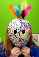 THE YOUNG PICASSOS MADE THEIR OWN MASKS!