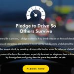 Take the pledge this National Road Safety Week
