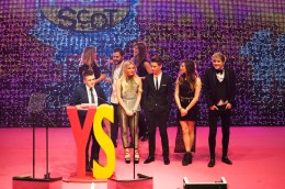 FOR SUNDAY MAIL Volunteering award VIP presenter: X-factor star – Andrea / Only the Young / Nicholas. Young Scot Awards 2015, Usher Hall, Edinburgh.. FEE PAYABLE FOR ALL INTERNET USE All money payable:- Mark Anderson Flat 2/2 Glasgow G41 3HG