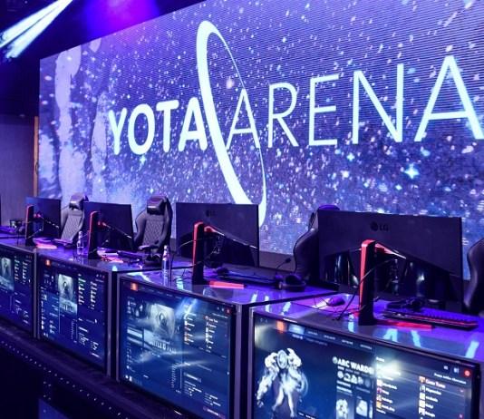открытие Yota Arena