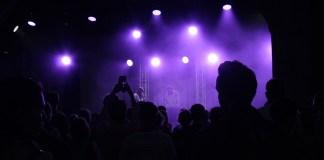 концерт Pinkshinyultrablast на сцене «Новой Голландии»