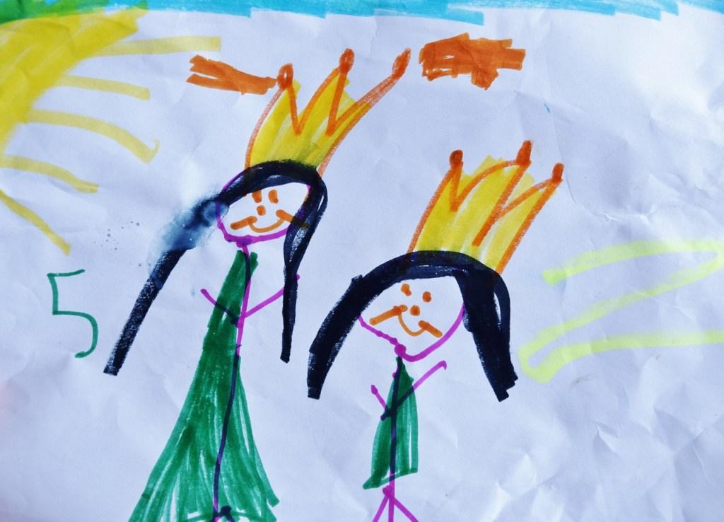 Kids Art - Princesses