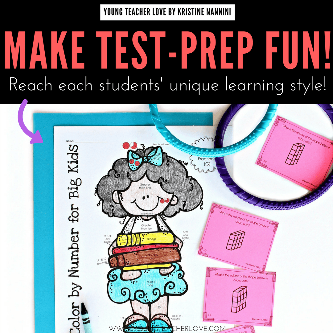 Fun Test Prep Idea By Kristine Nannini Of Young Teacher Love