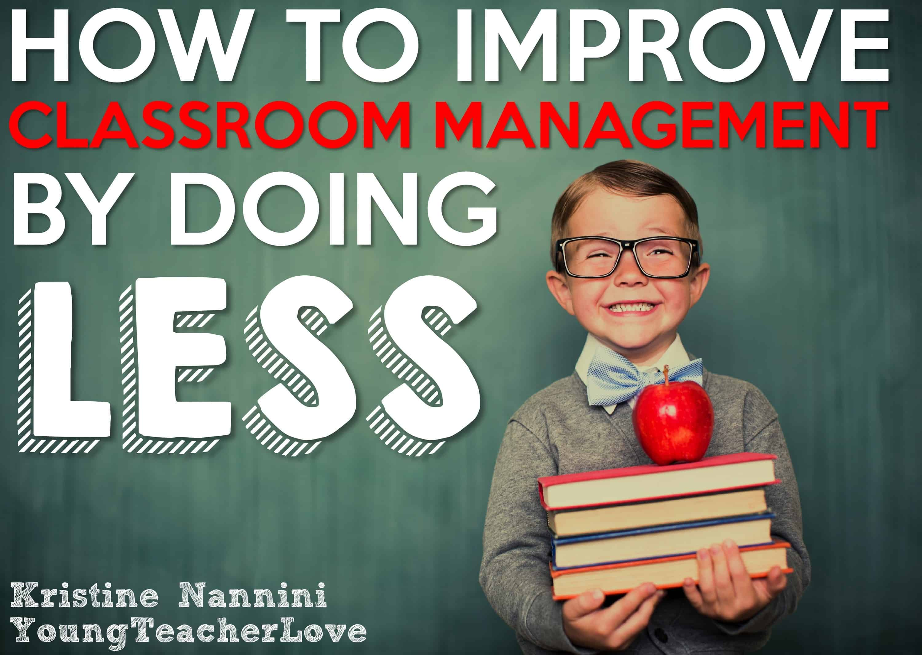 How To Improve Classroom Management By Doing Less Logical Consequences Freebie